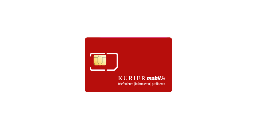 KURIER mobil Ersatz-SIM-Karte