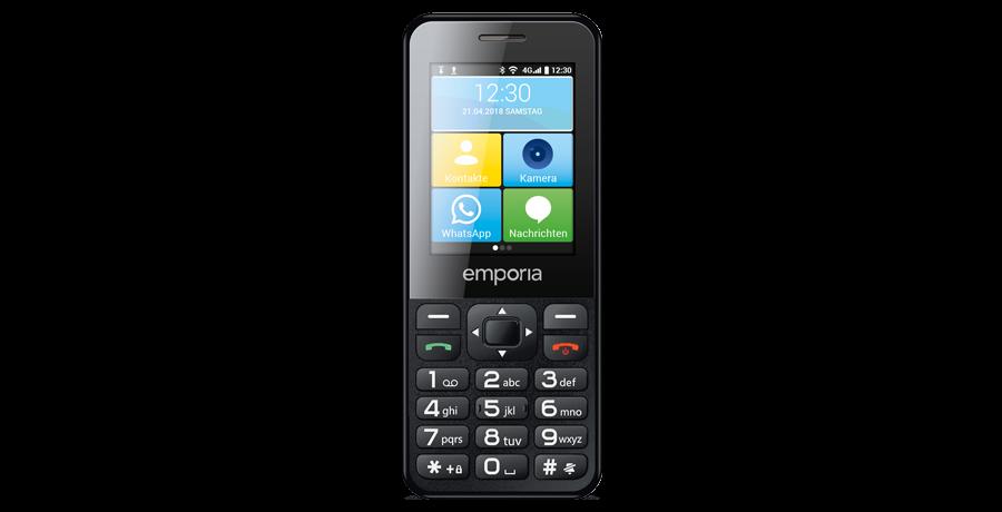 Emporia TalkSmart in schwarz